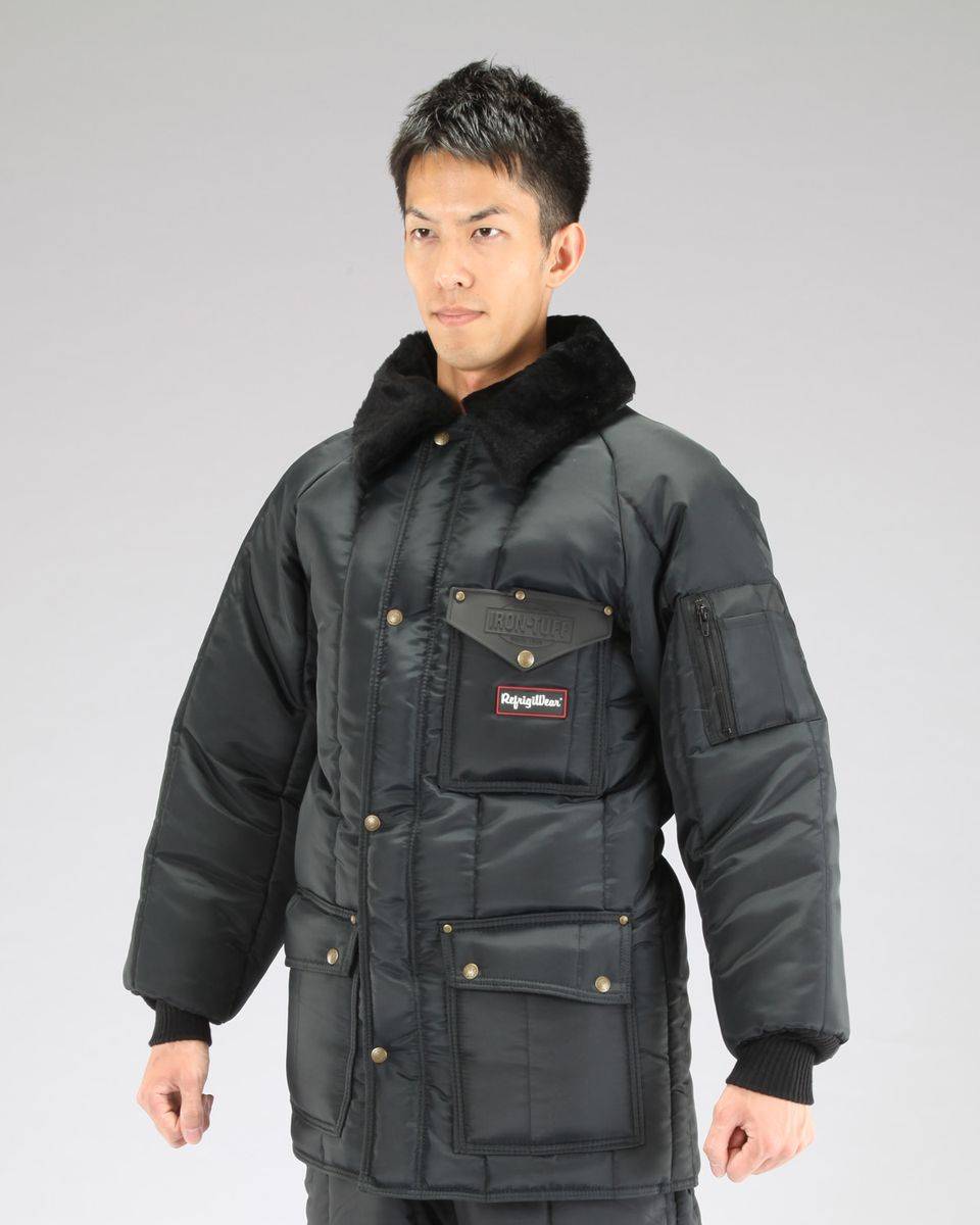 【メーカー在庫あり】 エスコ ESCO L 防寒ジャケット Navy 000012042730 HD店