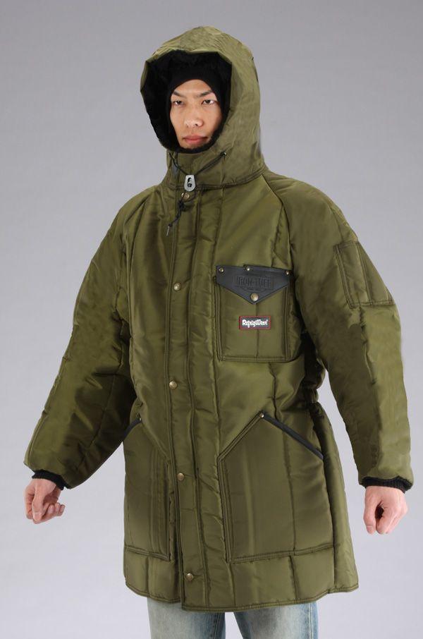 【メーカー在庫あり】 エスコ ESCO XL 防寒ロングコート Sage 000012042748 HD店