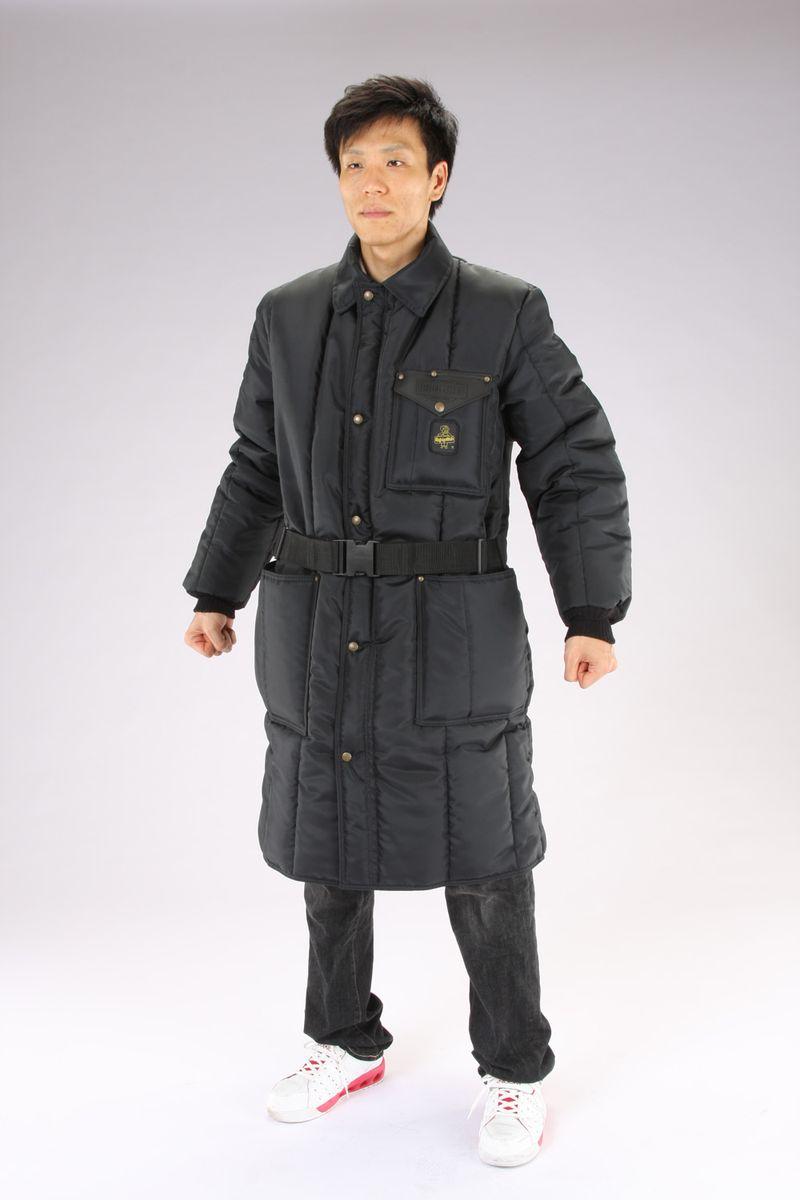 【メーカー在庫あり】 エスコ ESCO L 防寒ロングコート Navy 000012264779 HD店