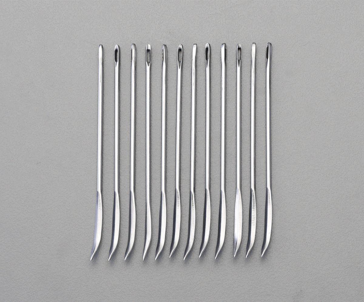 【メーカー在庫あり】 エスコ ESCO 4.47x229mm 縫 針 ベントタイプ/12本 000012230036 HD店