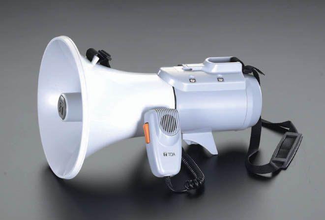 【メーカー在庫あり】 エスコ ESCO 15W メガホン ショルダー型 000012070019 HD店