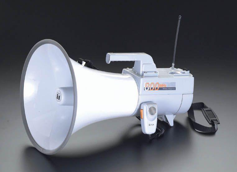 エスコ ESCO 30W メガホン ショルダー型 000012070022 HD店