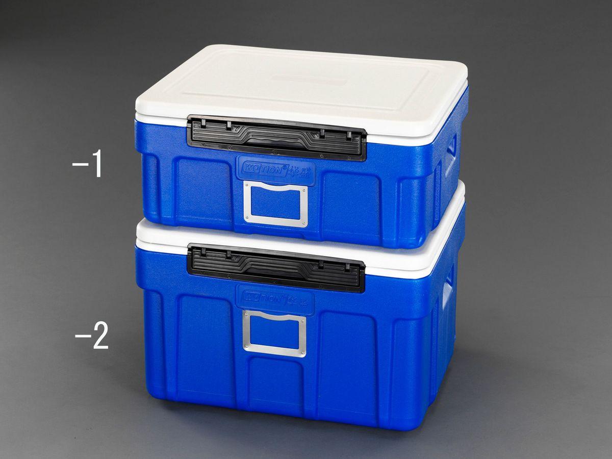 【メーカー在庫あり】 エスコ ESCO 607x497x235mm/42L クーラーボックス ブルー 000012259784 HD店