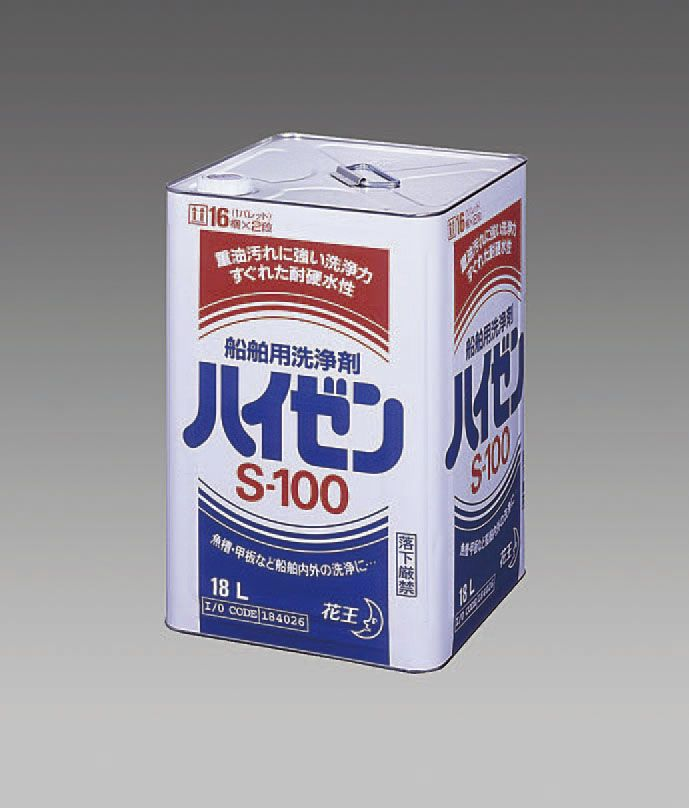 【メーカー在庫あり】 エスコ ESCO 18L 船舶用洗浄剤 ハイゼンS-100 000012216261 HD店