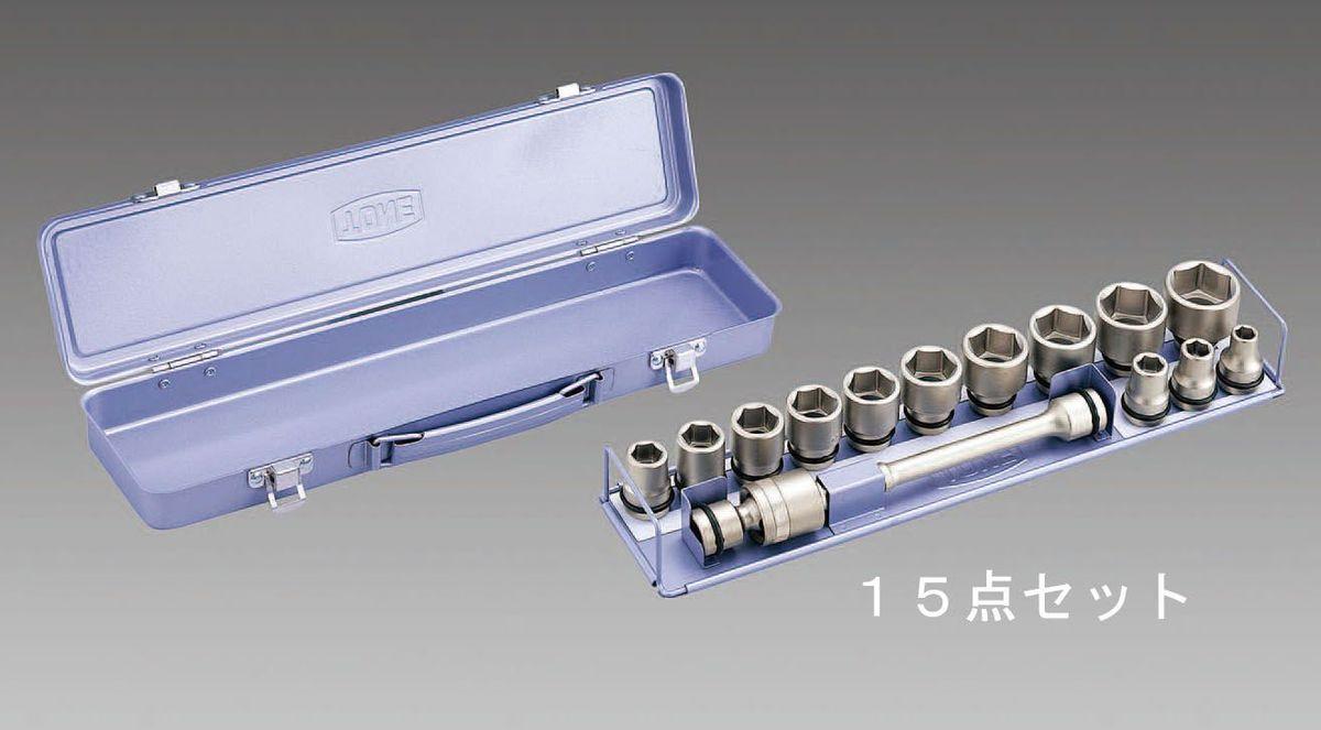 1/2sq 【メーカー在庫あり】 HD エスコ(ESCO) 000012223902 インパクトソケットセット