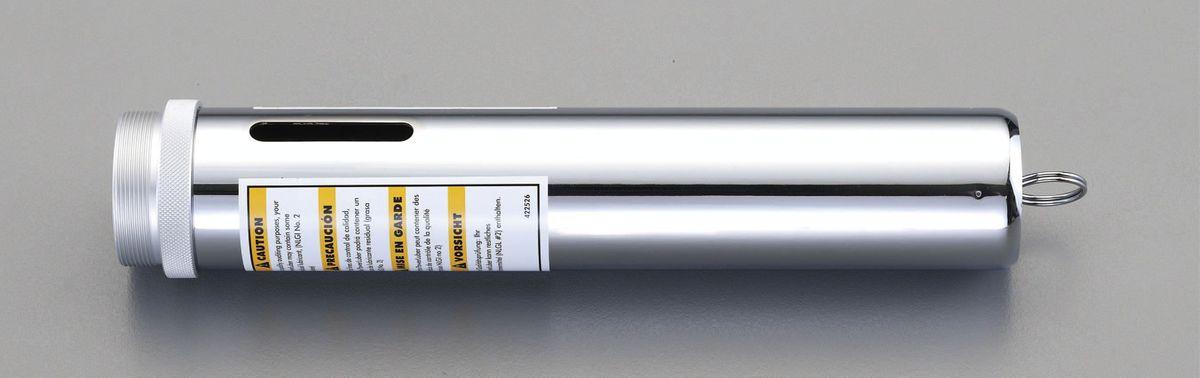 【メーカー在庫あり】 エスコ(ESCO) カートリッジグリース用筒 000012223350 HD