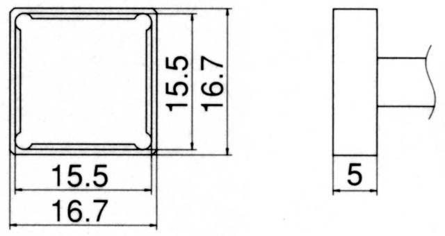 エスコ(ESCO) 15.5x15.5mm 交換用こて先(クワッド型) 000012077381 HD