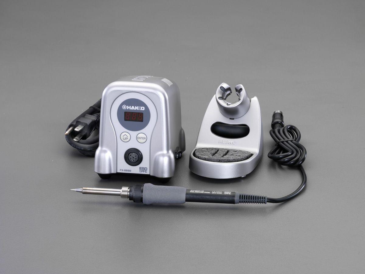 【メーカー在庫あり】 エスコ(ESCO) AC100V/70W コントローラー付半田ごて 000012252252 HD