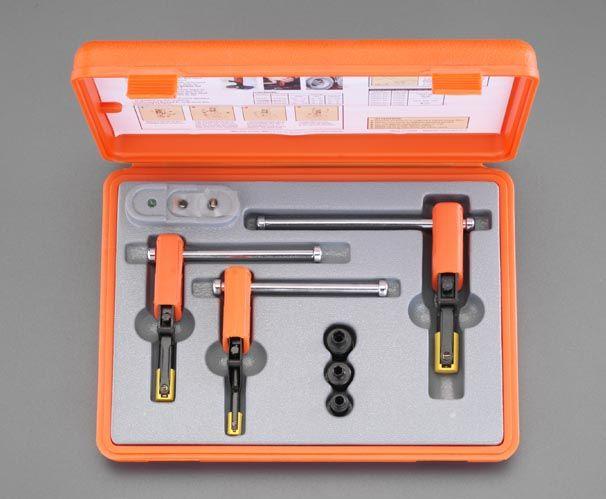 【メーカー在庫あり】 エスコ ESCO 8-20mm 内ねじ修正ツールセット 000012078542 HD店
