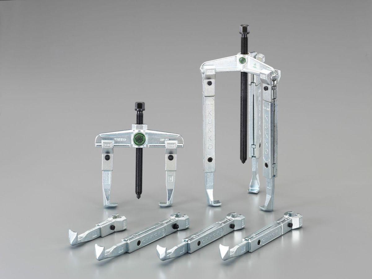 【メーカー在庫あり】 エスコ ESCO 120-250mm プーラーセット 000012237310 HD
