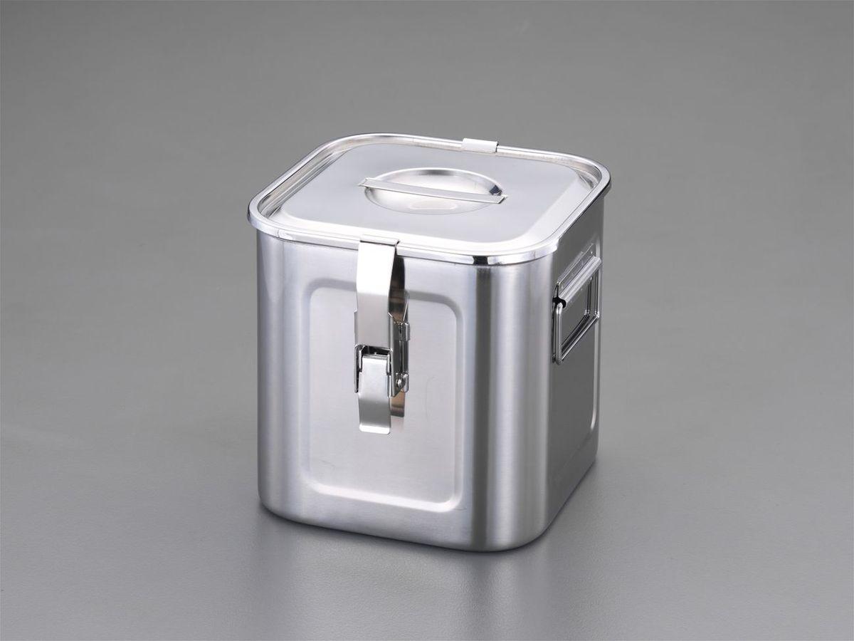エスコ ESCO 270x270x270mm 深型BOX(ステンレス製) 000012011562 HD