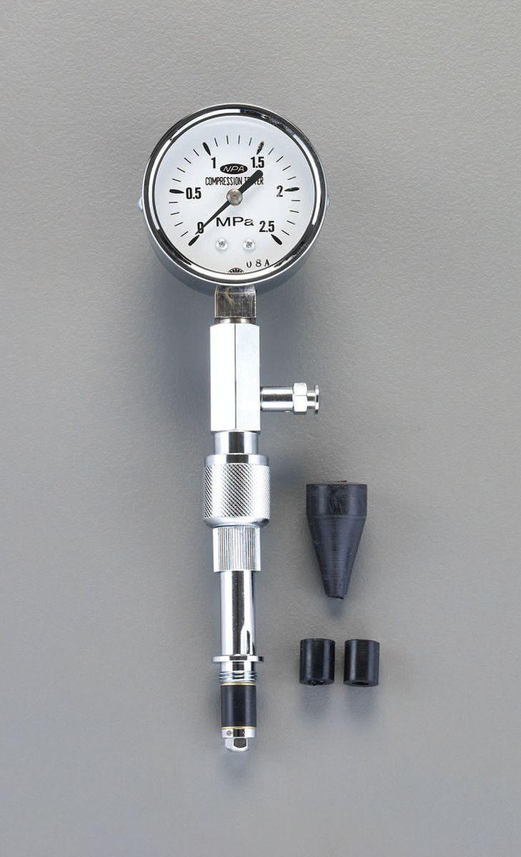 【メーカー在庫あり】 エスコ ESCO コンプレッションゲージ(ガソリンエンジン用) 000012097072 HD