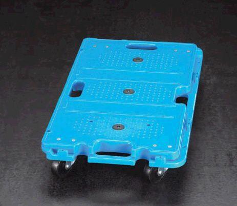 【メーカー在庫あり】 エスコ ESCO 390x680mm/120kg ドーリー(プラスチック製) 000012026859 HD