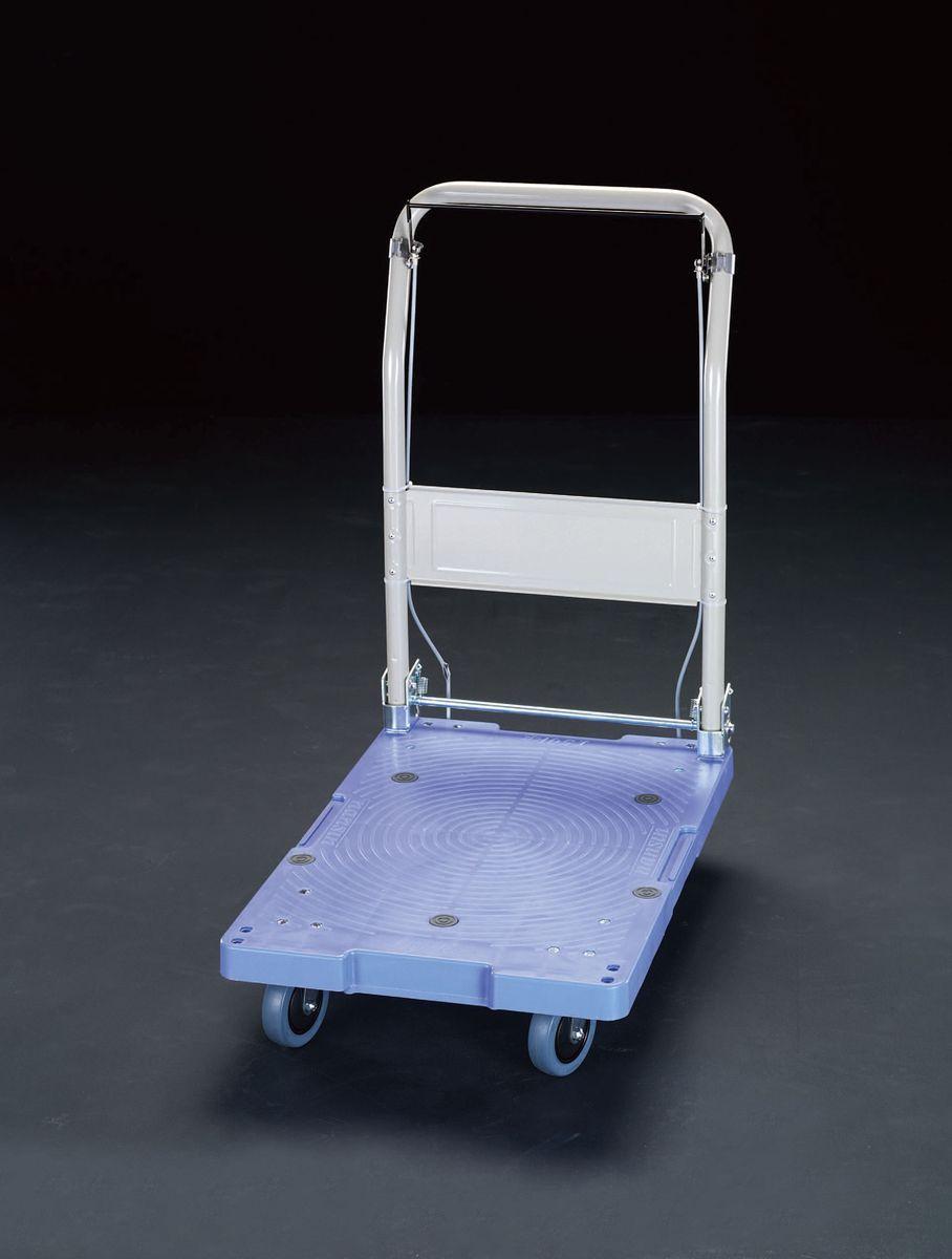 HD 000012208682 【メーカー在庫あり】 ESCO 715x460mm/150kg 運搬車(ブレーキ付/プラスチック) エスコ