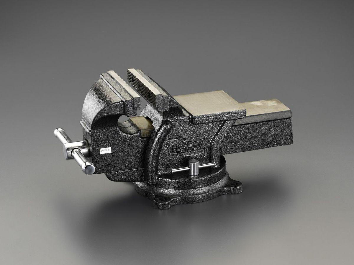【メーカー在庫あり】 エスコ ESCO 152mm ベンチバイス(回転台付) 000012222171 HD