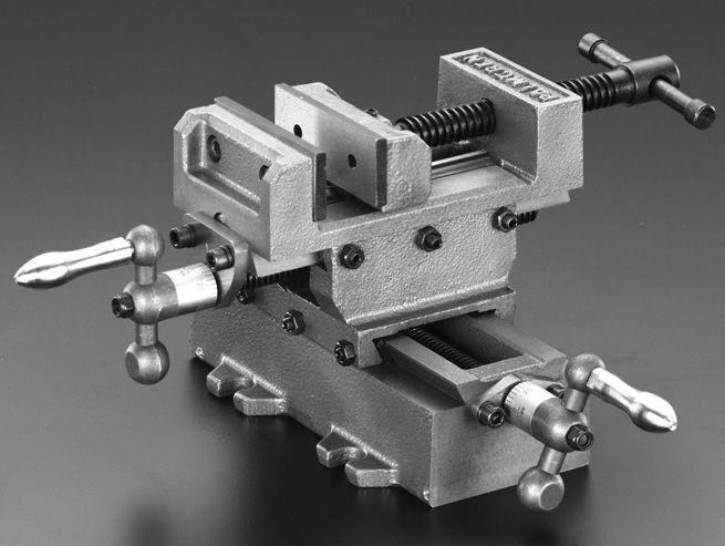 【メーカー在庫あり】 エスコ ESCO 80mm クロススライドバイス 000012073046 HD