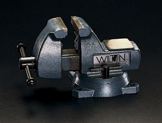 【メーカー在庫あり】 エスコ ESCO 200mm/0-210mm メカニックバイス(回転台付) 000012046113 HD