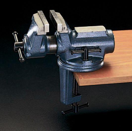 【メーカー在庫あり】 エスコ ESCO 65mm/0-54mm ジュニアーバイス(クランプベース) 000012057487 HD