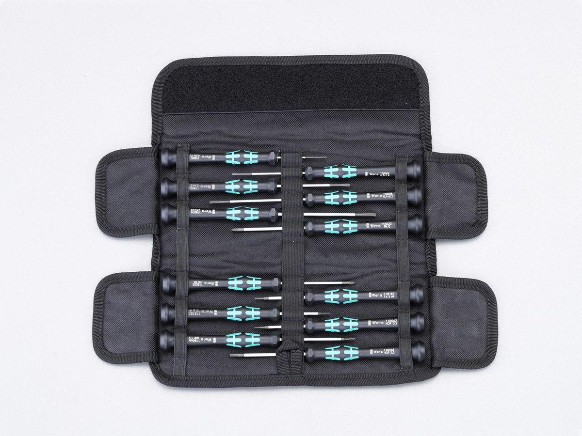 【メーカー在庫あり】 エスコ ESCO 12本組 + Hex Torx ドライバー 精密用 000012252305 HD店