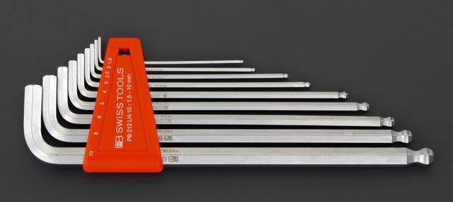 エスコ ESCO 1.5-8.0mm/8本組 Hexagon キーレンチ 000012072042 HD店
