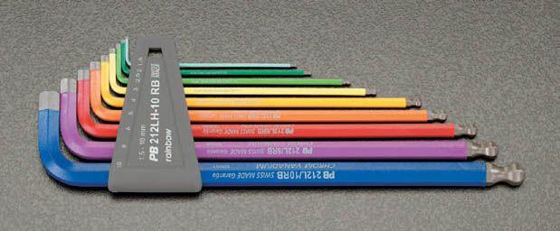 【メーカー在庫あり】 エスコ ESCO 1.5-10mm/9本組 Ball Hexagon キーレンチ 000012012740 HD店