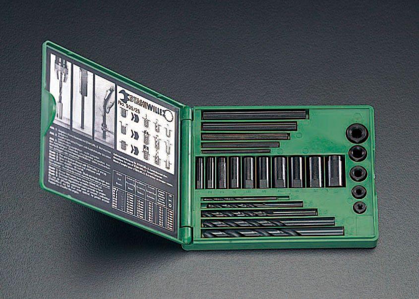 【メーカー在庫あり】 エスコ ESCO M5-M16 スクリューエキストラクターセット 000012030750 HD店