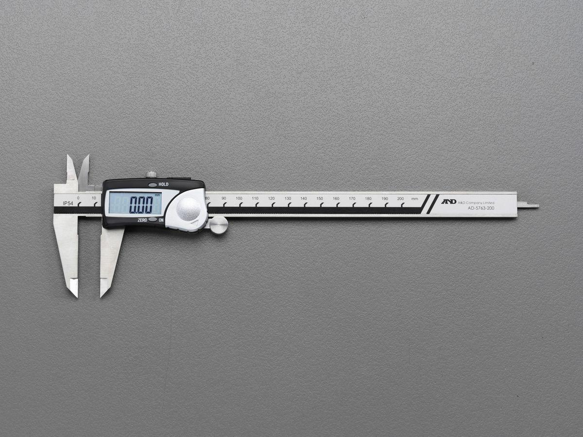 【メーカー在庫あり】 エスコ ESCO 300mm デジタルノギス防滴構造 000012259482 HD店