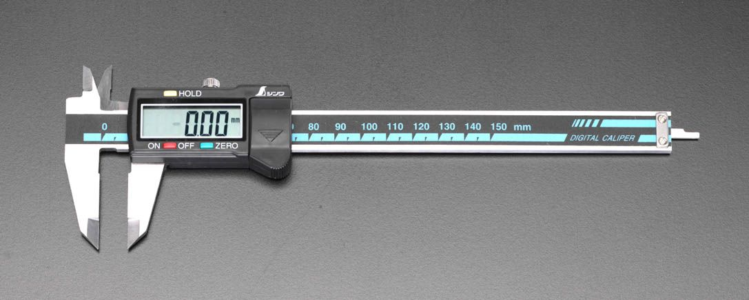 【メーカー在庫あり】 エスコ ESCO 300mm デジタルノギス 000012071673 HD店