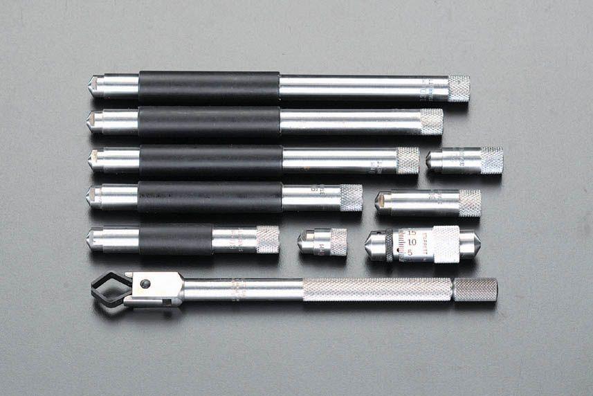 【メーカー在庫あり】 エスコ ESCO 40-300mm インサイドマイクロメーター 000012058622 HD店