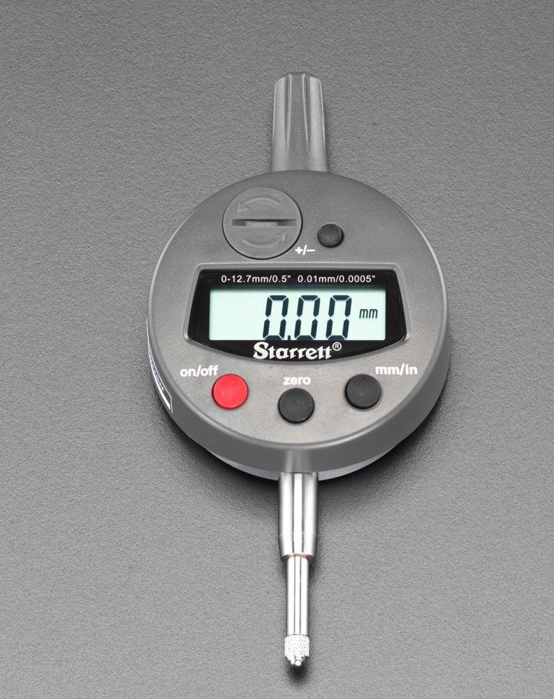 【メーカー在庫あり】 エスコ ESCO 12.7mm/0.01 ディジタルダイアルゲージ 000012074104 HD店