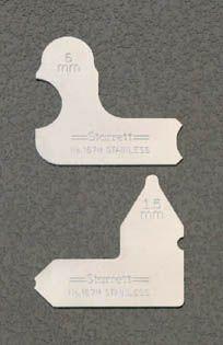 【メーカー在庫あり】 エスコ ESCO 0.5-15.0mm ラディアスゲージ 000012018555 HD店