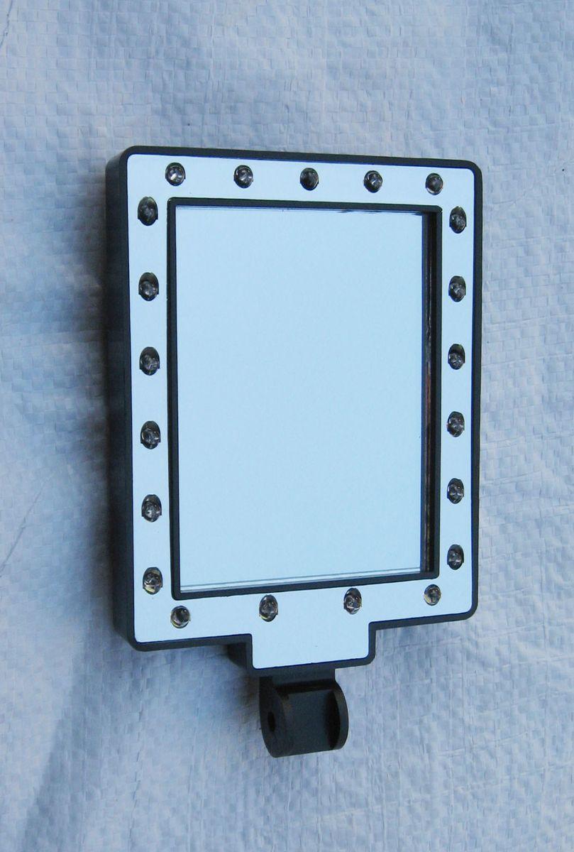 【メーカー在庫あり】 エスコ ESCO 75x100mm 交換用ミラーヘッド(LEDライト付) 000012210849 HD店