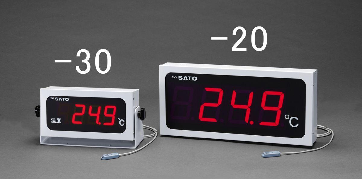【メーカー在庫あり】 エスコ ESCO 463x213mm 大型デジタル温度計 000012263809 HD店