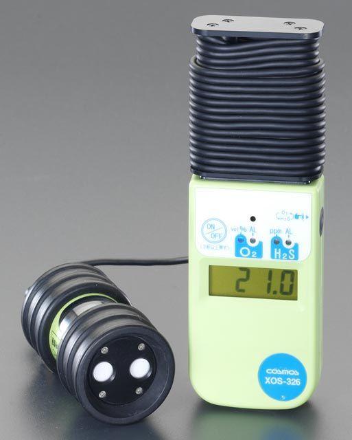 【メーカー在庫あり】 エスコ ESCO 酸素 硫化水素濃度計 000012080161 HD店