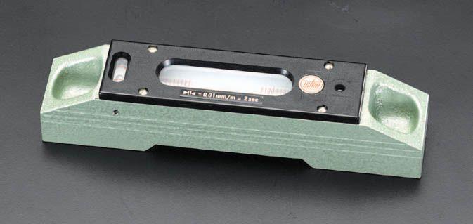【メーカー在庫あり】 エスコ ESCO 300mm(0.05mm/m) 精密レベル 000012048823 HD店