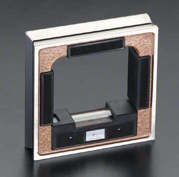 【メーカー在庫あり】 エスコ ESCO 200x200mm(0.04mm/m) 精密レベル 000012048844 HD店