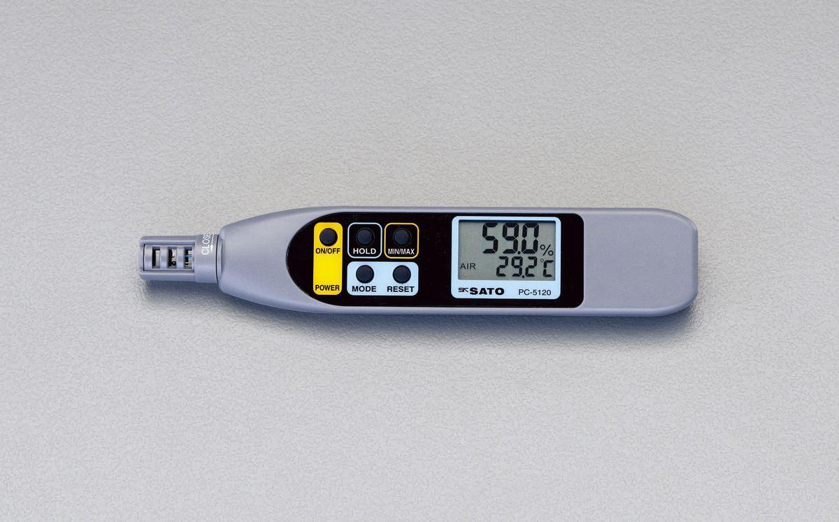【メーカー在庫あり】 エスコ ESCO 温度 湿度計(ペン型) 000012211047 HD店
