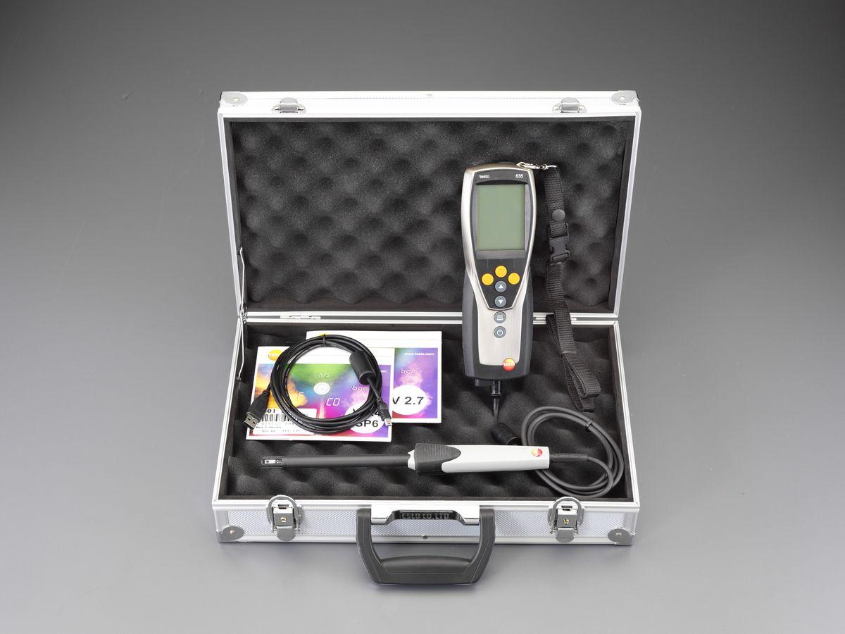 【メーカー在庫あり】 エスコ ESCO 温度 湿度計セット(デジタル) 000012221905 HD店