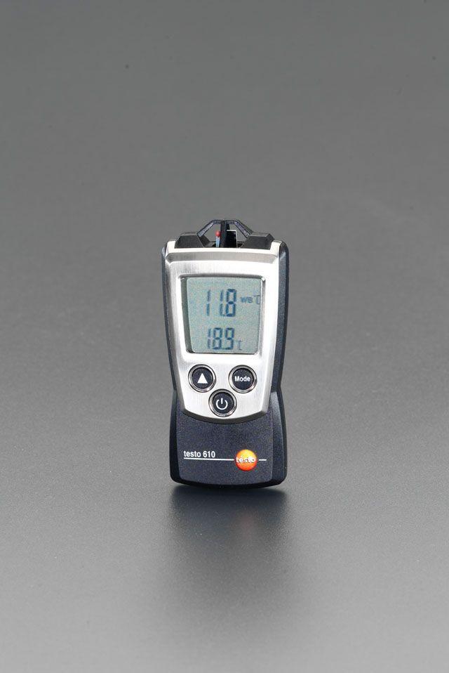 【メーカー在庫あり】 エスコ ESCO デジタル温度 湿度計 000012080191 HD店