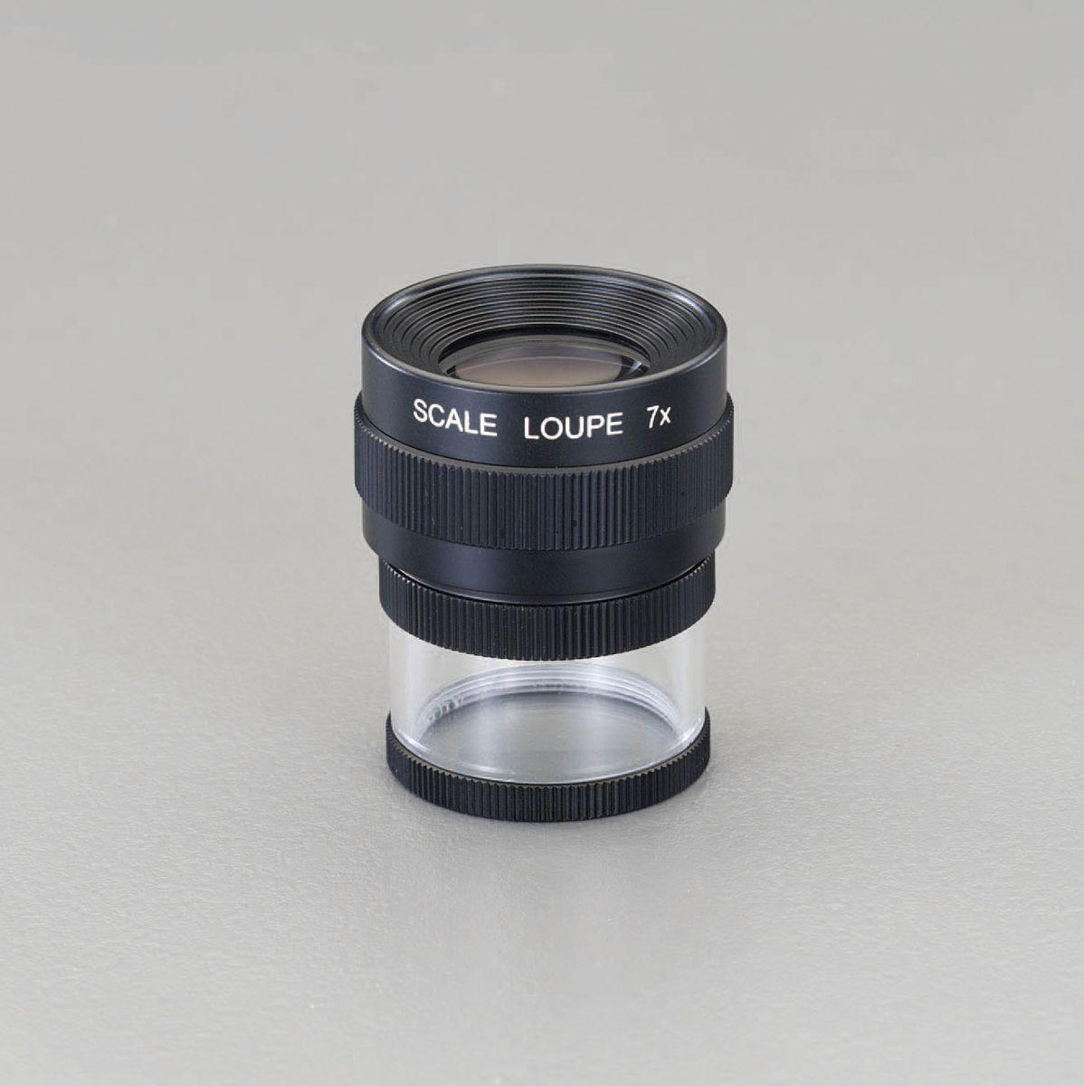 【メーカー在庫あり】 エスコ ESCO x7/23mm スケールルーペ 000012211106 HD店