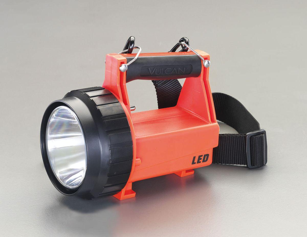 【メーカー在庫あり】 エスコ ESCO 充電式 フラッシュライト/LED ファイヤーマン(防爆構造) 000012223306 HD店