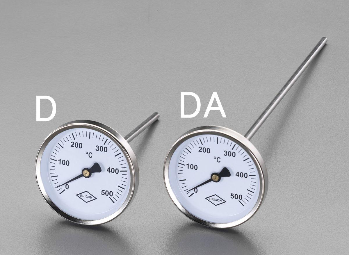 【メーカー在庫あり】 エスコ(ESCO) 300mm バイメタル温度計 000012016182 HD