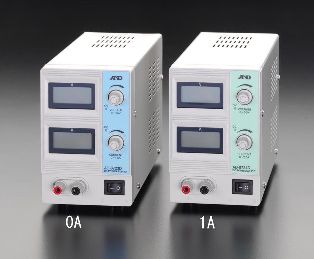 【メーカー在庫あり】 エスコ ESCO AC100V→DC 0-30V/1.5A 直流安定化電源 000012076681 HD店