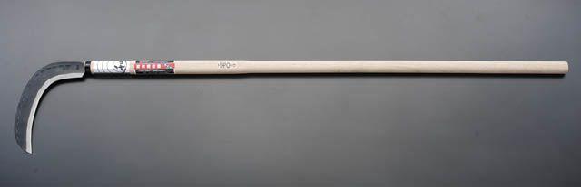 【メーカー在庫あり】 エスコ ESCO 270mm/1350mm 下刈り鎌(長柄) 000012062909 HD店