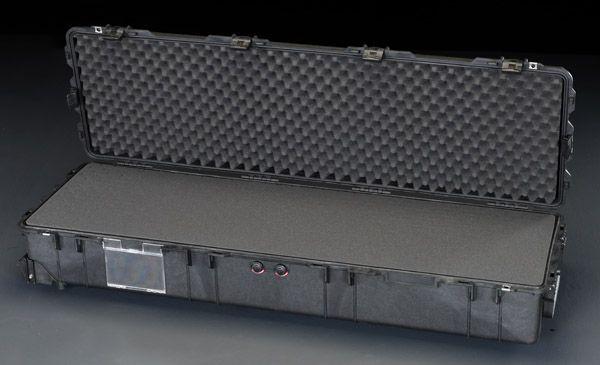 【メーカー在庫あり】 エスコ ESCO 1386x396x219mm/内寸 万能防水ケース(黒) 000012210461 HD店
