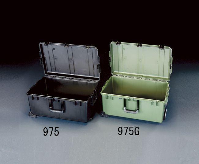 エスコ ESCO 736x457x350mm/内寸 防水ケース(黒) 000012210473 HD店