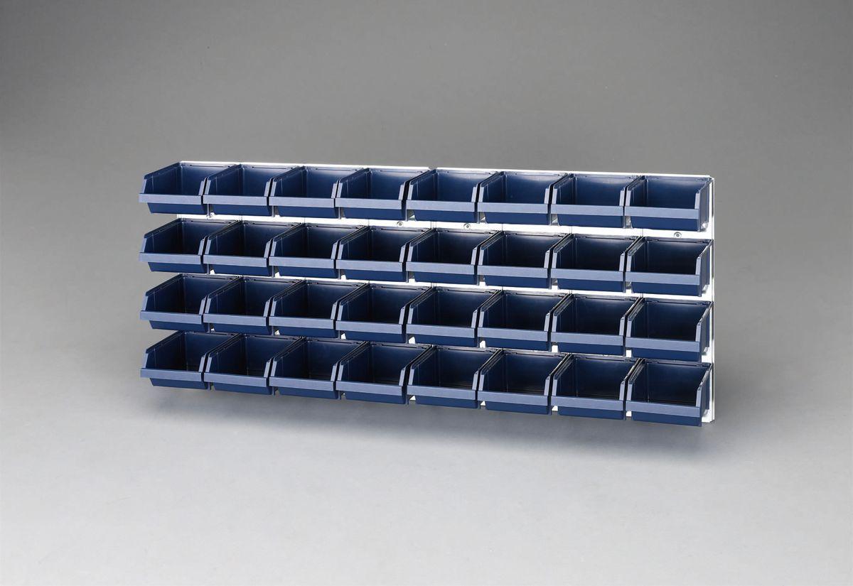 【メーカー在庫あり】 エスコ ESCO 1040x440mm パーツトレーセット(壁面用 32トレー付) 000012239307 HD店