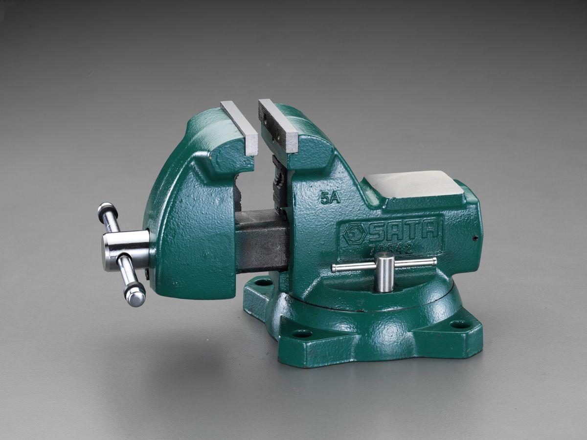 【メーカー在庫あり】 エスコ ESCO 200mm ベンチバイス(回転台付) 000012251789 HD店
