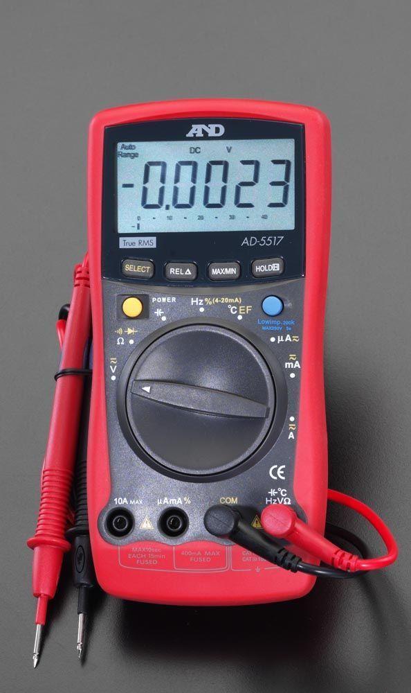 エスコ ESCO デジタル マルチメーター 000012073972 HD店