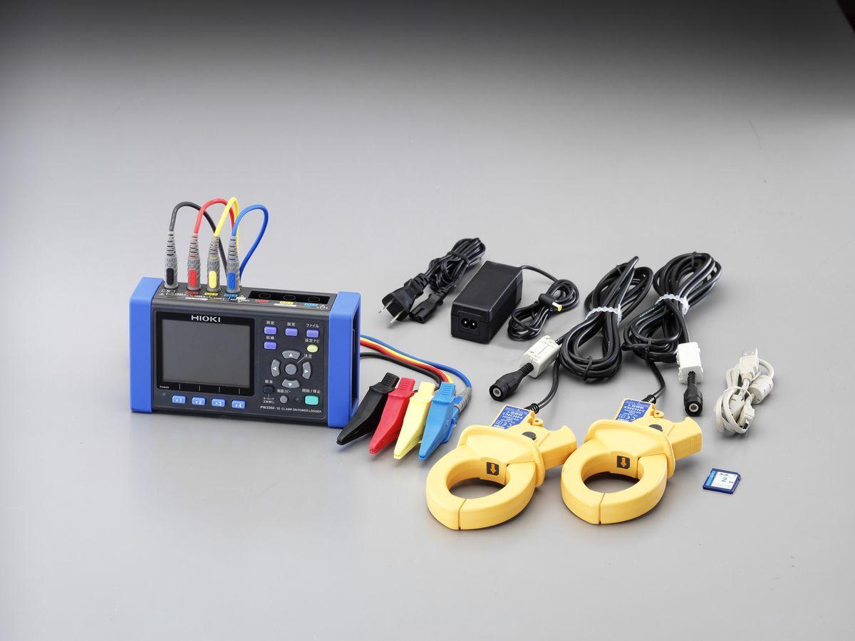 エスコ ESCO デジタルクランプ電力テスター 000012247042 HD店